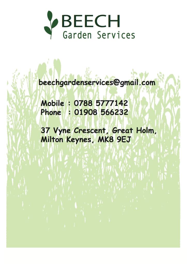 beech garden contact